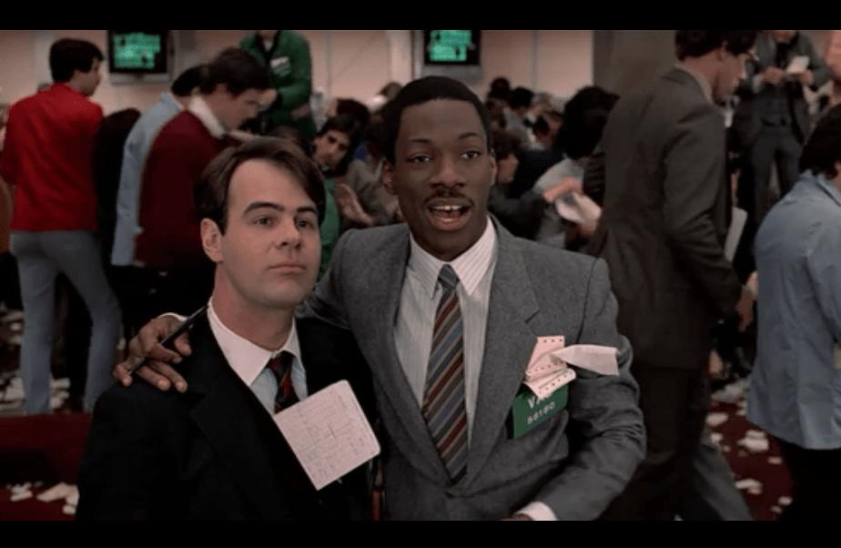 Trading Places, Dan Akroyd, Eddie Murphy