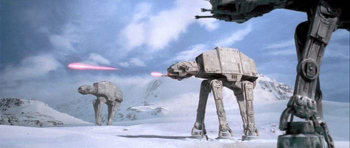 Star Wars, Star Wars: The Empire Strikes Back, AT-AT, The Battle of Hoth