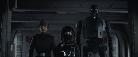 Rogue One: A Star Wars Story, Jyn Erso, Felicity Jones, Cassian Andor, Diego Luna, K-2SO, Alan Tudyk