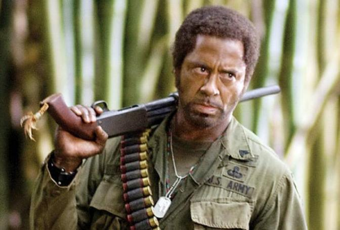 "My Favorite Scene: Tropic Thunder (2008) ""Sgt. Lincoln Osiris: I'm A Dude!!!"""