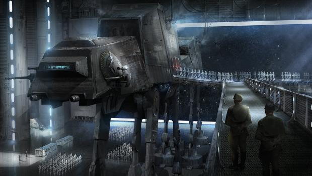 Rogue One: A Star Wars Story, AT-AT, Stormtroopers