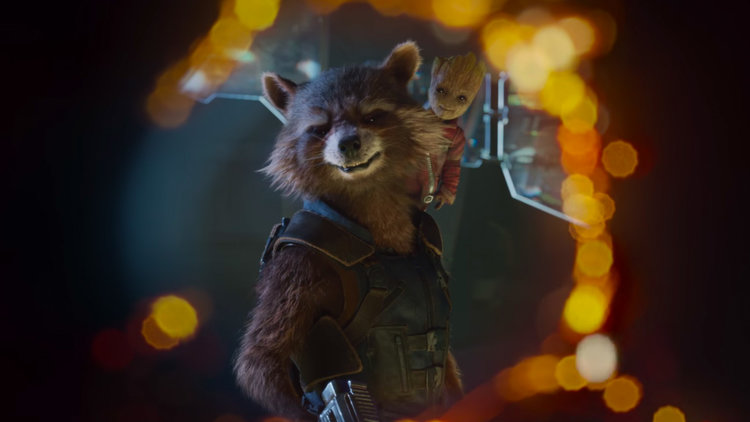 Rocket Raccoon, Groot, Guardians of the Galaxy Vol. 2