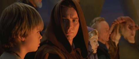 Obi-Wan Kenobi, Ewan McGregor, Jake Lloyd, Anakin Skywalker, Star Wars Episode I: The Phantom Menace