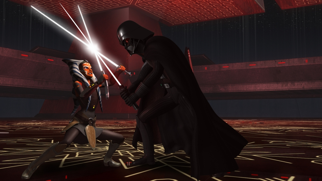 Darth Vader, Ahsoka Tano, Star Wars Rebels