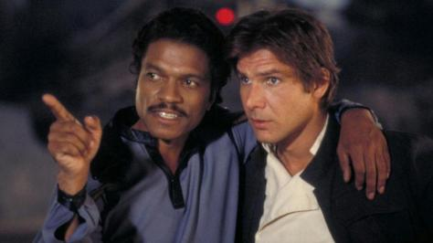 Harrison Ford, Billy Dee Williams, The Empire Strikes Back, Han Solo, Lando Calrissian