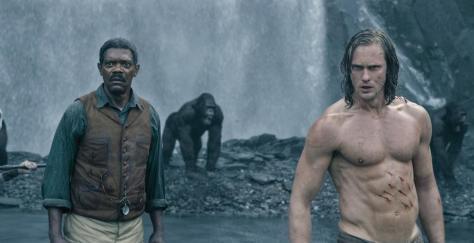 Tarzan, Alexander Skarsgard, Samuel L. Jackson