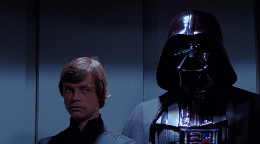 Star Wars Episode VI: Return of the Jedi, Luke Skywalker, Mark Hamill, Anakin Skywalker, Darth Vader, David Prowse