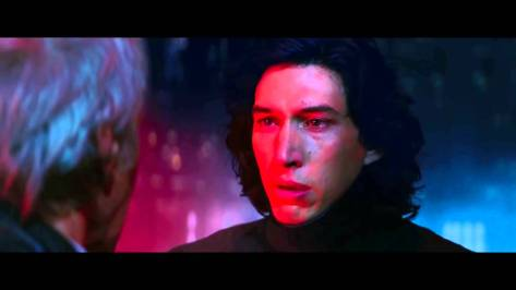 Han Solo, Ben Solo, Kylo Ren, Adam Driver, Harrison Ford, Star Wars Episode VII: The Force Awakens