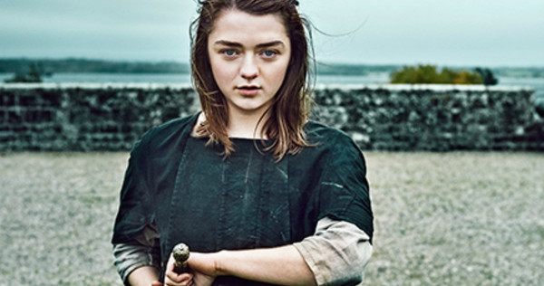 Maisie Williams, Arya Stark, Game of Thrones