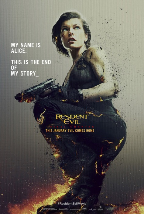 Resident Evil: The Final Chapter, Milla Jovovich, Alice