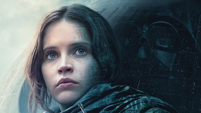 Rogue One: A Star Wars Story, Felicity Jones, Death Star, Darth Vader, Jyn Erso