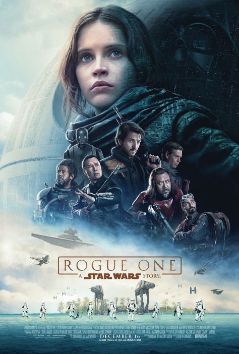 Rogue One: A Star Wars Story, Darth Vader, Death Star, Jyn Erso, Felicity Jones, Saw Gerrera, Forrest Whitaker, Donnie Yen, Star Destroyer, AT-AT, Director Orson Krennic, Diego Luna, Gareth Edwards, Disney, Lucasfilm