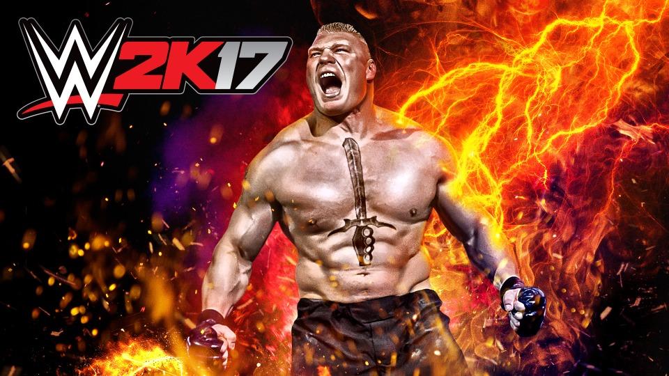 Brock Lesnar, WWE 2K17