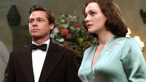 Allied, Brad Pitt, Marion Cotillard, Brad Pitt