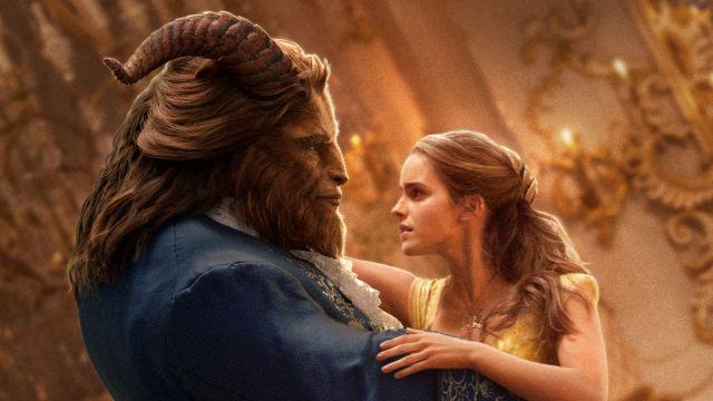 Dan Stevens and Emma Watson in Disney's Beauty and the Beast