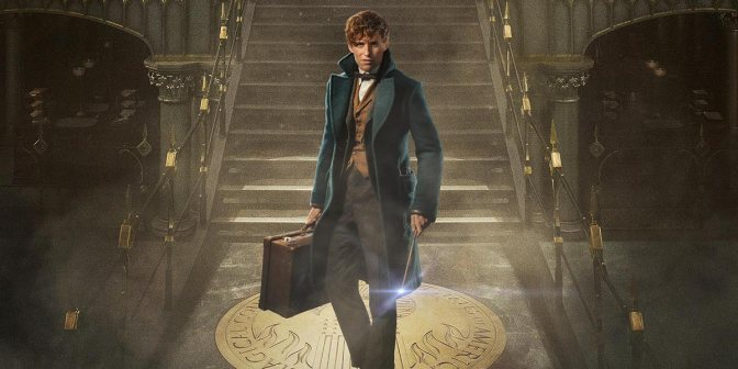 Fantastic Beasts and Where to Find Them, Eddie Redmayne, Newt Scamander