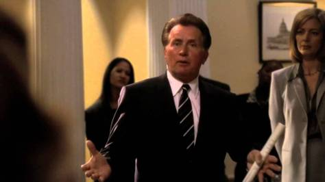 Martin Sheen, President Josiah Bartlett, The West Wing