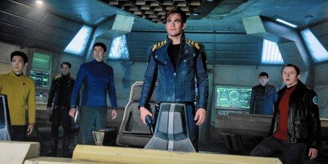Star Trek Beyond, Karl Urban, Zachary Quinto, Chris Pine, Mr. Spock, Captain Kirk