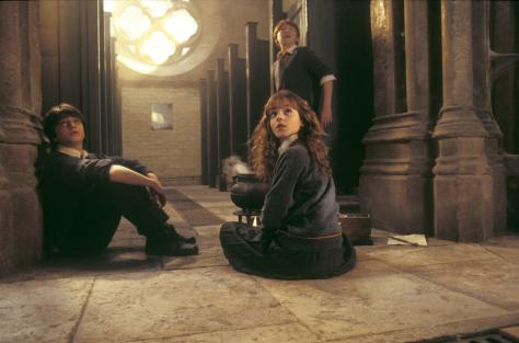 Harry Potter and the Chamber of Secrets, Harry Potter, Hermione Granger, Ron Weasley, Rupert Grint, Emma Watson, Daniel Radcliffe