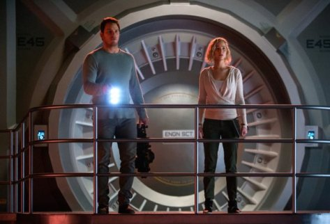 Passengers, Chris Pratt, Jennifer Lawrence