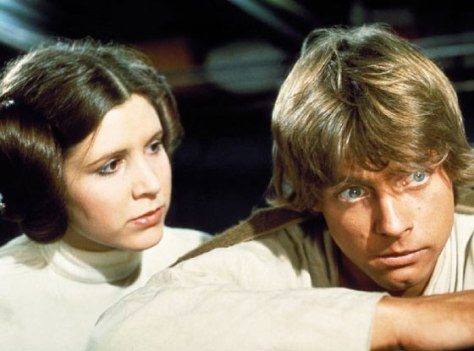 Carrie Fisher, Mark Hamill, Star Wars, Luke Skywalker, Princess Leia