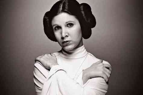 Carrie Fisher, Princess Leia, Star Wars