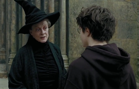 Harry Potter, Daniel Radcliffe, Maggie Smith, Harry Potter and the Prisoner of Azkaban
