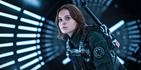 Felicity Jones, Jyn Erso, Rogue One: A Star Wars Story,