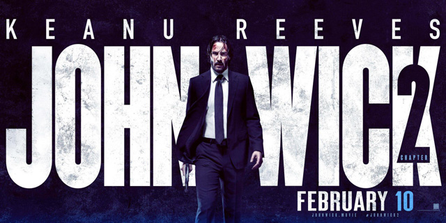 Trailer Time: John Wick Chapter Two Trailer #2 (2017) *Man Loves His Dog; S'all.""