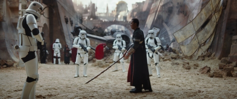 Chirrut Imwe, Donnie Yen, Stormtroopers, Rogue One: A Star Wars Story