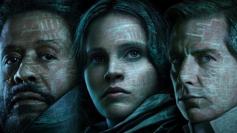 Jyn Erso, Felicity Jones, Saw Gerrera, Forest Whitaker, Ben Mendelsohn, Director Orson Krennic, Rogue One: A Star Wars Story