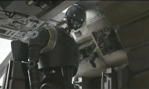 Rogue One: A Star Wars Story, K-2SO, Alan Tudyk
