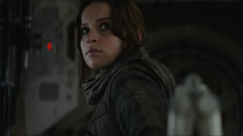 Felicity Jones, Jyn Erso, Rogue One: A Star Wars Story
