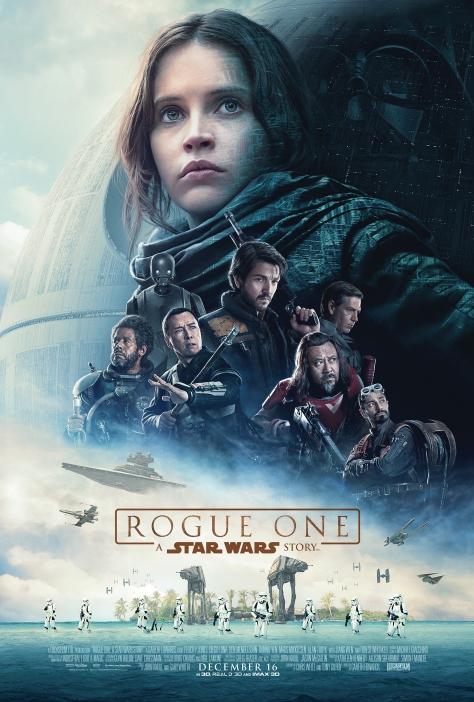 Rogue One: A Star Wars Story, Darth Vader, Death Star, Felicity Jones, Jyn Erso