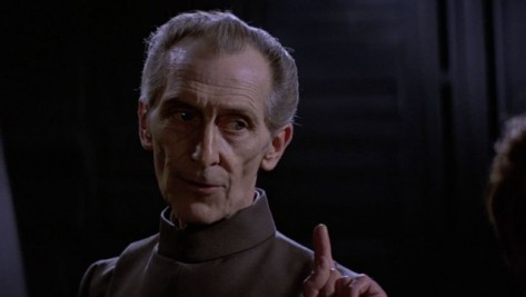 Peter Cushing, Grand Moff Tarkin, Star Wars Episode IV: A New Hope