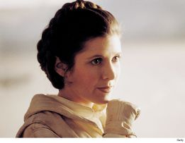 The Empire Strikes Back, Carrie Fisher, Princess Leia
