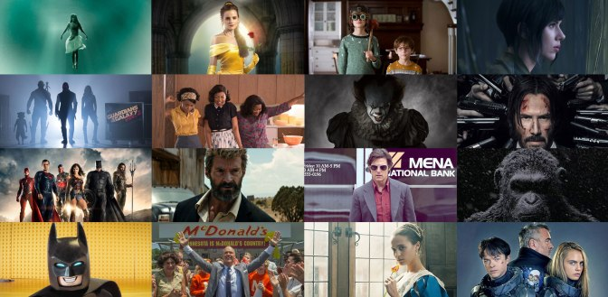 Top 10: Trailers for 2017 Movies