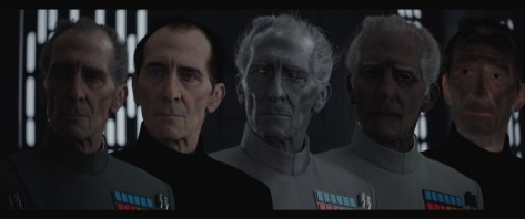Rogue One: A Star Wars Story, Peter Cushing, Guy Henry, Grand Moff Tarkin