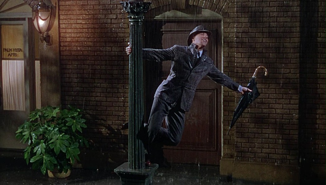 Gene Kelly, Singing in the Rain
