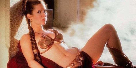 Return of the Jedi, Princess Leia, Star Wars, Carrie Fisher