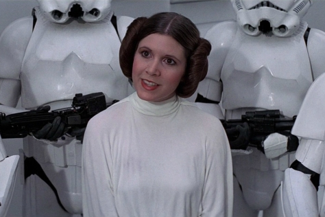 Star Wars, A New Hope, Carrie Fisher, Princess Leia
