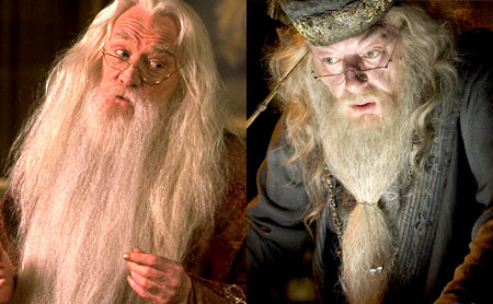 Albus Dumbledore, Michael Gambon, Harry Potter, Richard harris