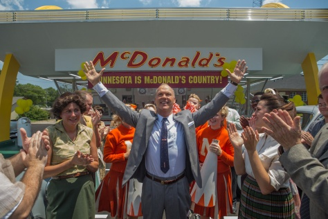 Michael Keaton, The Founder, Ray Kroc, McDonald's