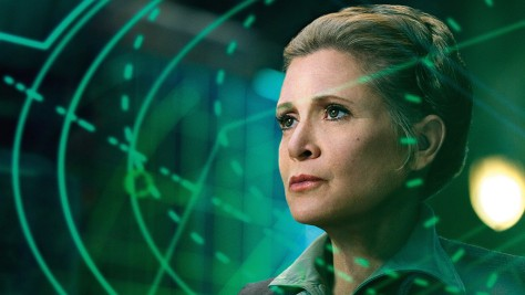 Carrie Fisher, General Leia Organa, Star Wars Episode VII
