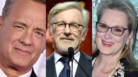 Tom Hanks, Steven Spielberg, Meryl Streep