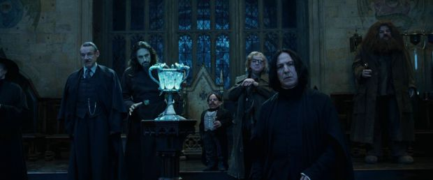Severus Snape, Mad Eye Moody, Alan Rickman, Brendan Gleeson, Harry Potter and the Goblet of Fire