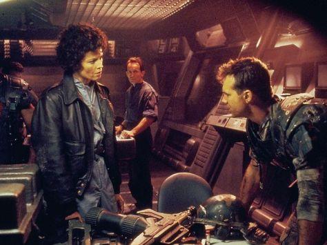 Aliens, Sigourney Weaver, Bill Paxton