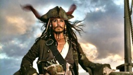 Johnny Depp in Pirates of the Caribbean: The Curse of the Black Pearl