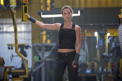 Emily Blunt, The Edge of Tomorrow