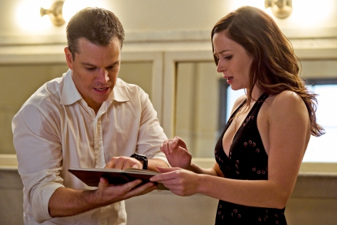 Matt Damon, The Adjustment Bureau, Emily Blunt